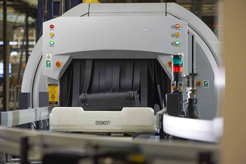 BEUMER Group in-tote screening