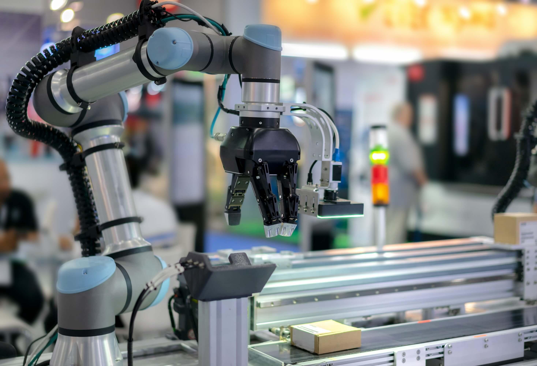 Photo of CEP logistics robots