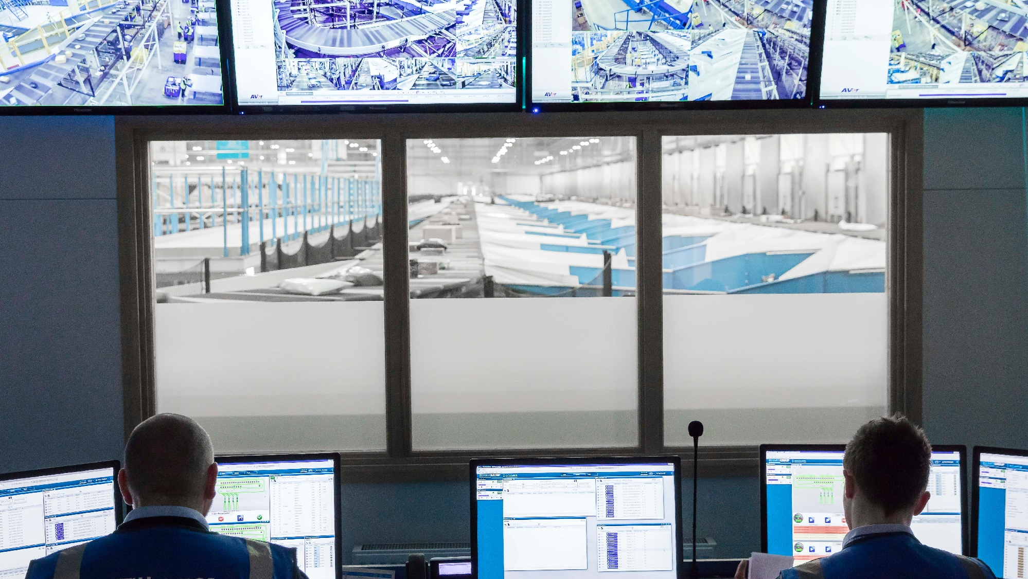Distribution centre managers use digitalisation to monitor sortation system