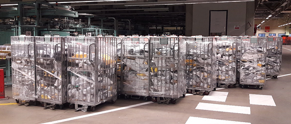 Image of rest mail cages