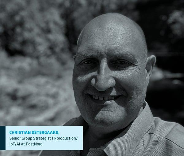 Portrait of Christian Oestergaard, Senior Group Strategist at PostNord