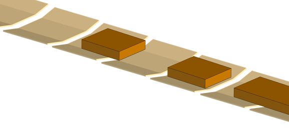 An illustration of good vs bad carrier items.